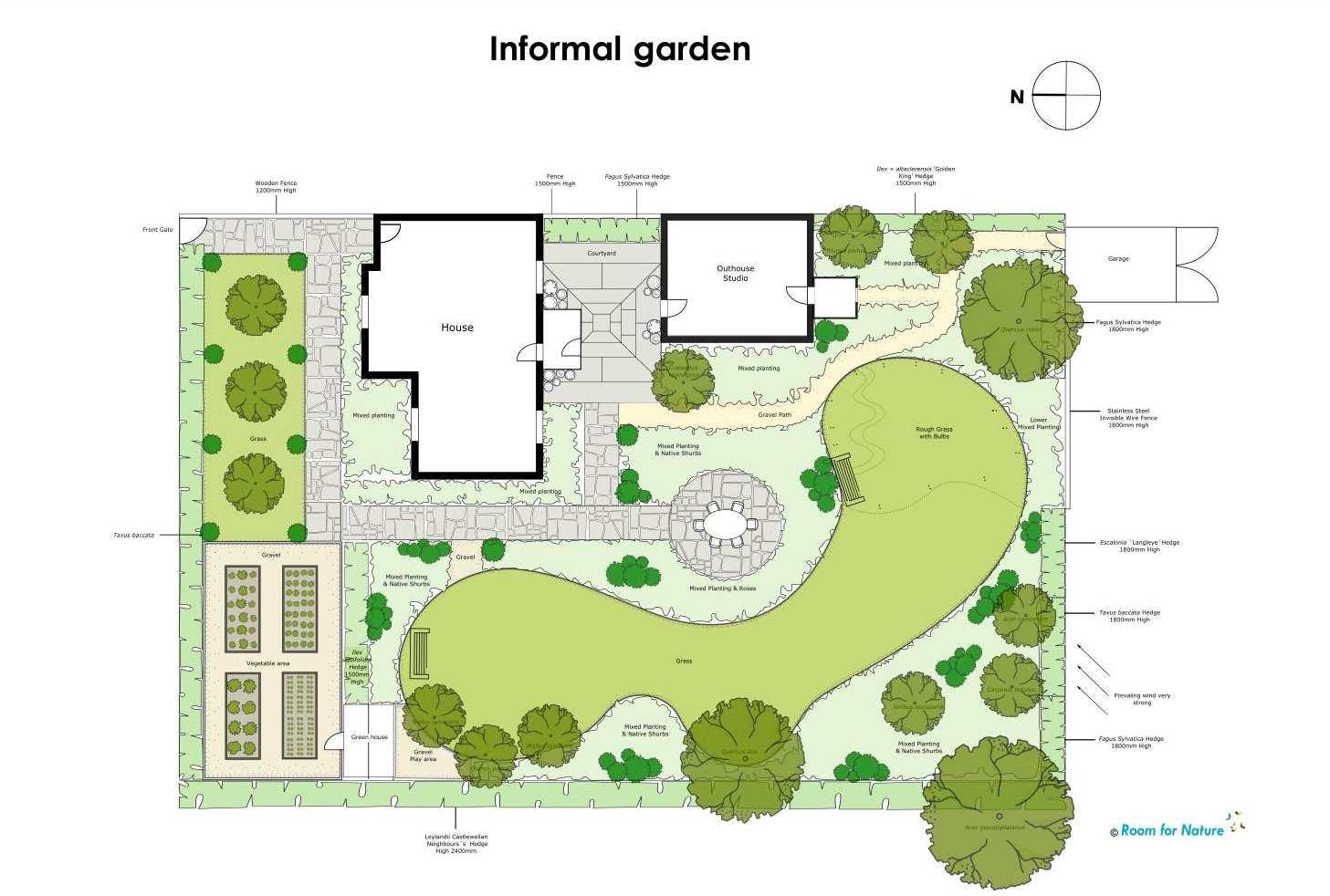 2d cad garden design plan garden design cad - Garden Design Cad